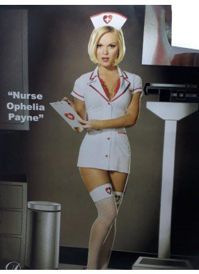 Костюм Медсестры с кружевами