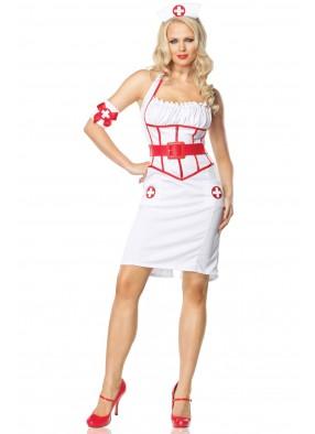 Костюм Медсестры в длинном платье 1 фото