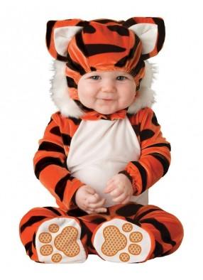 Костюм милого тигренка детский фото