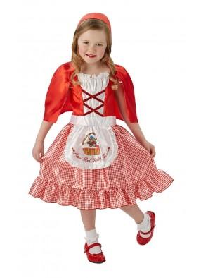 Костюм милой Красной Шапочки для детей фото