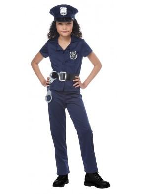 Костюм милой полицейской для девочки