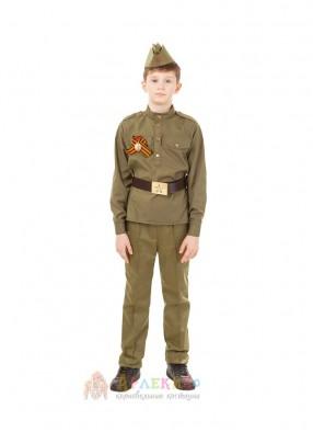 Костюм молодого солдата