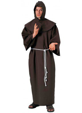 Костюм монаха отшельника большой