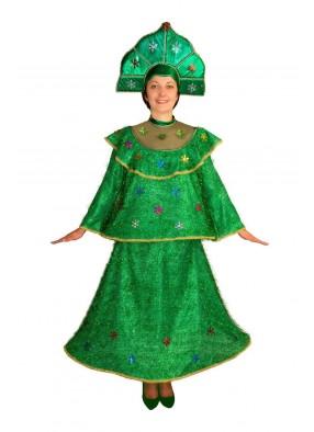 Костюм новогодней елки для женщины