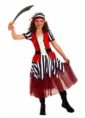 Костюм очаровательной пиратки для девочки