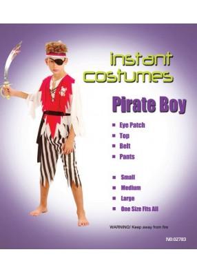Костюм одноглазого пирата для мальчика