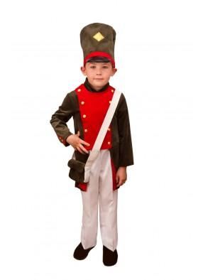 Костюм оловянного солдатика для мальчика