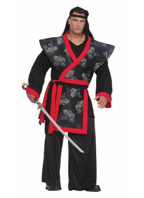 Костюм опасного самурая