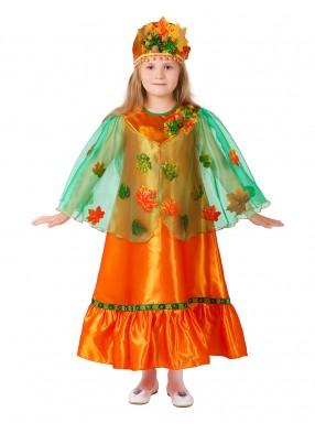 Костюм Осени с кокошником для девочки
