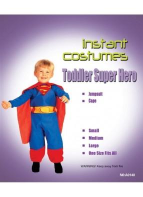 Костюм отважного супермена для мальчика