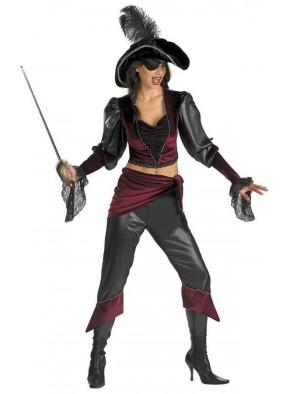 Костюм отважной пиратки-красотки