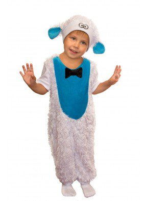 Костюм овечки Долли для девочки