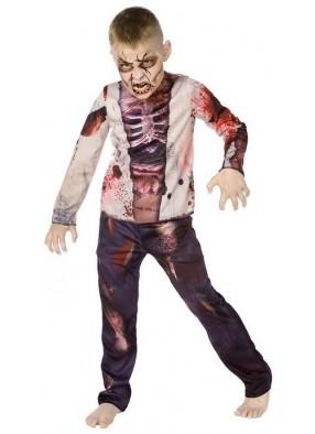 Костюм ожившего зомби детский