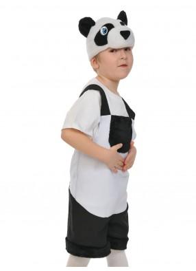 Костюм панды тканево-плюшевый