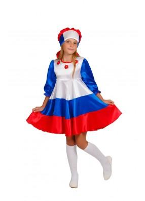 Костюм патриотки для девочки