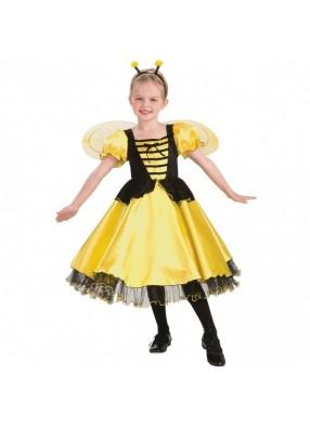 Костюм пчелки платьем