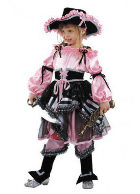 Костюм пиратки для девочки фото