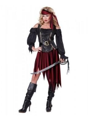 Костюм пиратки королевы фото