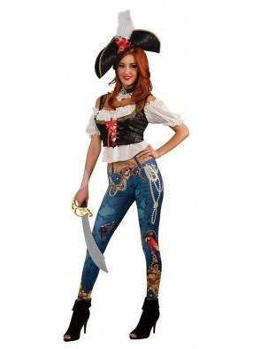 Костюм пиратки семи морей