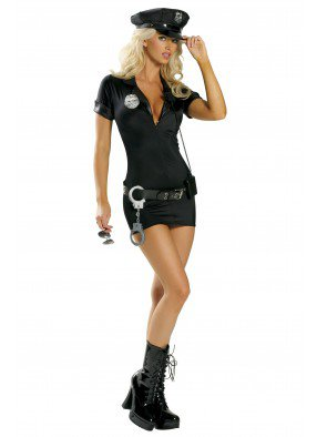 Костюм Полицейской с наручниками 3 фото