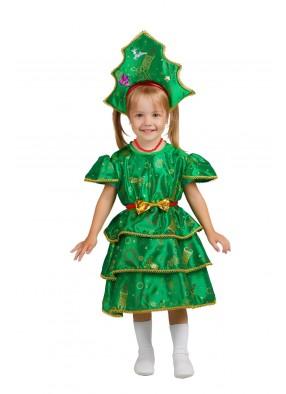 Костюм праздничной елки для девочки