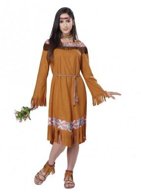 Костюм прекрасной индейской девушки фото