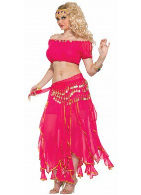 Костюм принцесса пустыни розовый фото