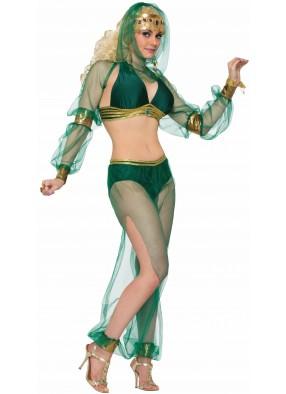 Костюм принцесса пустыни зеленый фото