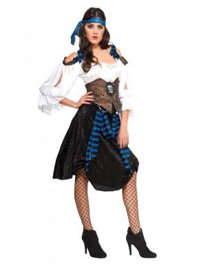 Костюм ромовой пиратки фото