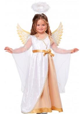 Костюм Рождественского Ангелочка для девочки
