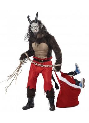Костюм Рождественского демона Крампуса фото