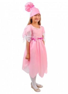 Костюм розовой Конфетки для девочки