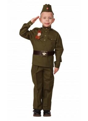 Костюм русского солдата для мальчика фото