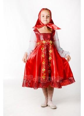 Костюм русской красавицы в сарафане