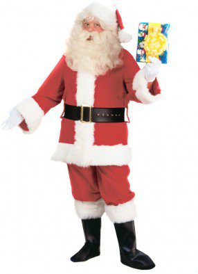 Костюм Санта Клаус Deluxe взрослый