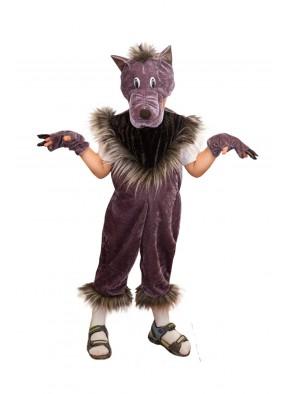 Костюм серого волка для мальчика