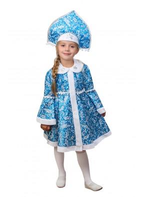 Костюм синей снегурочки для девочки