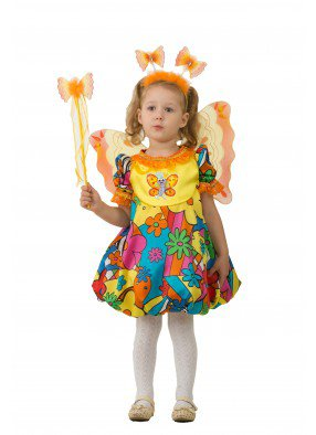 Костюм сказочной бабочки для девочки фото
