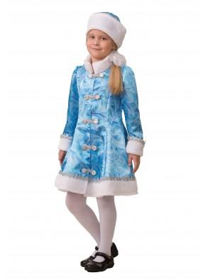 Костюм сказочной Снегурочки для девочки фото