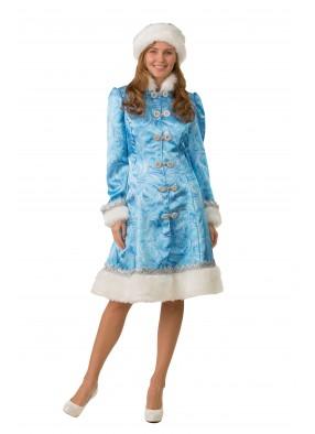 Костюм сказочной Снегурочки для женщины фото
