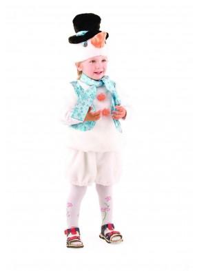 Костюм снеговика для мальчика фото