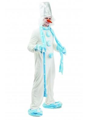 Костюм снеговика для взрослых фото