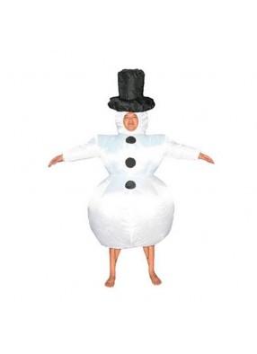 Костюм снеговика надувной
