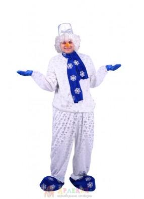 Костюм Снеговика с шарфом