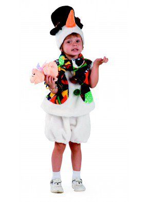 Костюм Снеговика в шляпе