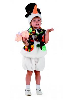 Костюм Снеговика в шляпе фото