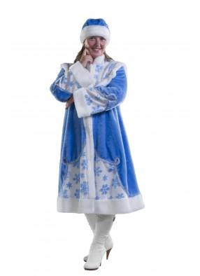 Костюм снегурочки в синем
