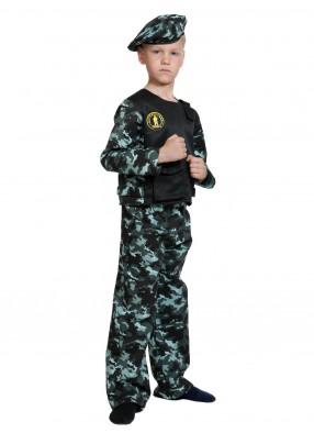 Костюм спецназа ГРУ мальчику фото