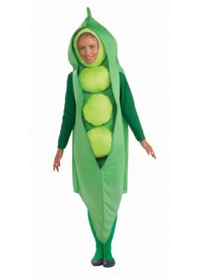 Костюм спелого зеленого горошка