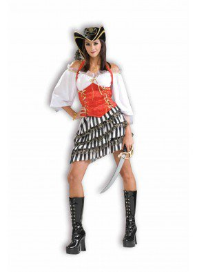 Костюм стильной пиратки